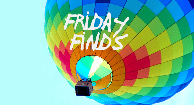 Friday Finds 3-09-12